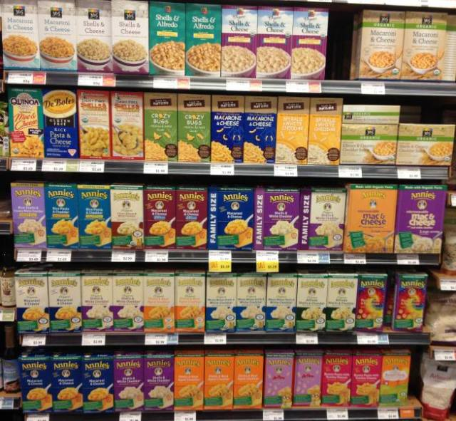 America's soul food doesn't even need to be homemade. Check out the vast number of ways you can buy mac 'n' cheese.