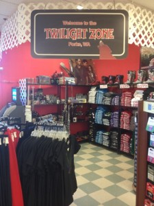 Just because Twilight wasn't actually filmed in Forks, doesn't mean you can't buy Twilight souvenirs there