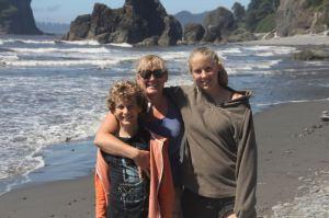 At Ruby Beach