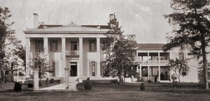 The plantation house at Belle Meade, Nashville