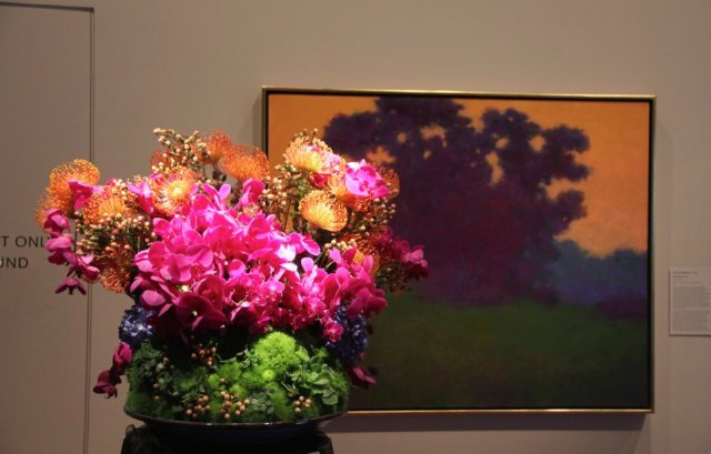 We liked the floral representation of this painting last year too