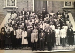 The 89 protest leaders in their Sunday Best. This was the photo that triggered global donations.